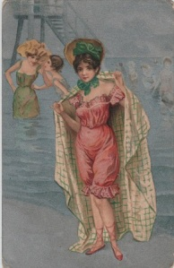 lady in bathing costume (stewart woolf)